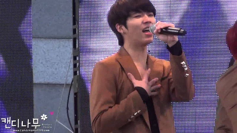 Fancam 121117 A Walk with the Stars infinite Paradise 파라다이스 woohyun 우현 ver