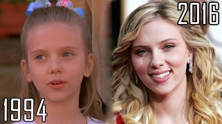 Scarlett Johansson (1994-2016) all movies list from 1994! How much has changed Before and Now!
