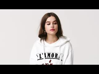 Очаровательная Lily Jean Harvey в рекламе новой туши от Dolce & Gabbana