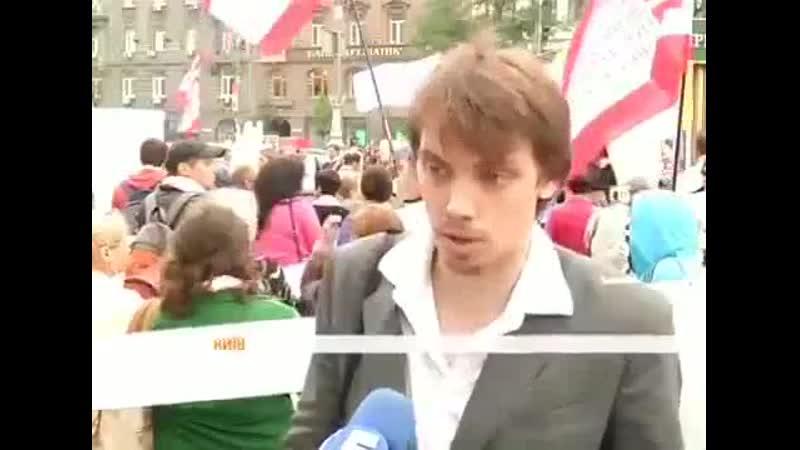 В 2012 году Гончарук учавствовал в массовке как обманутый инвестор социального жилья