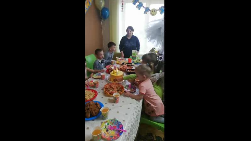 День рождения Сонички 5 лет
