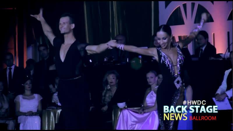 А ТАРНАВСКИЙ и А ДАНИЛОВА 04 11 2017 США Калифорния Лос Анджелес Hollywood Dancesport Championships Финал Презентация
