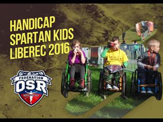 Spartan kids liberec 2016, handicap spartan kids