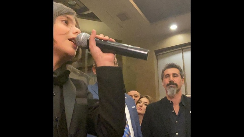 11 year old sings 'Lonely Day' of SOAD for Serj Tankian 2019