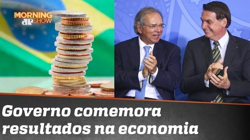 Resultados e projeções na economia animam governo Bolsonaro