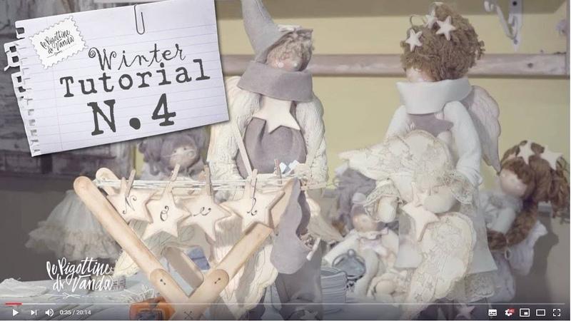 Le Pigottine di Vanda - Tra spago e mollette Tutorial n. 4 Autunno 2019