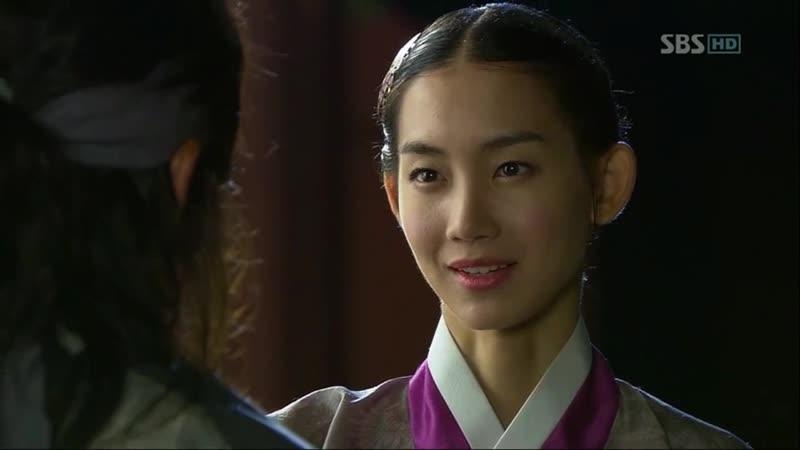 Эпизод из дорамы Воин Пэк Тон Су 11 сери Госпожа вы спасли мою жизнь