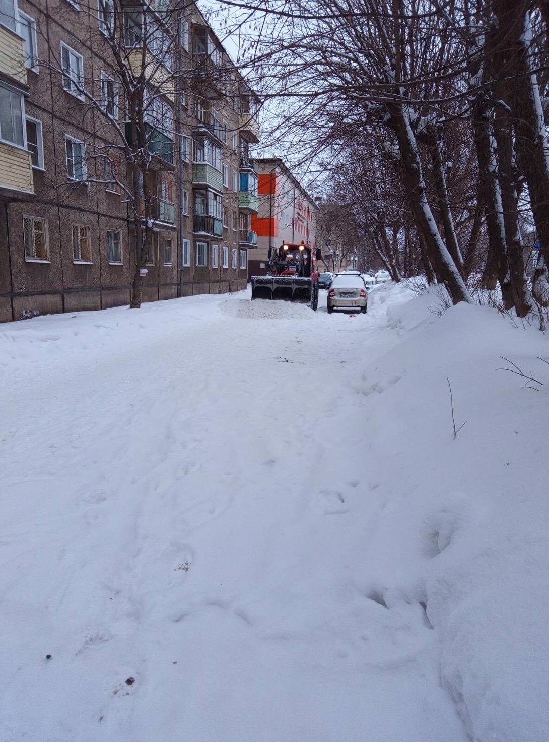 Октябрьский проспект дом 87б механизированная уборка