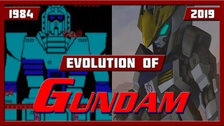 EVOLUTION OF GUNDAM GAMES (1984-2019)