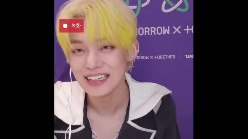 BRO YEONJUN IS SO PRETTY PLEASE HIS SHY SMILE - -