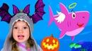 Halloween Baby Shark Kids Songs and Nursery Rhymes Halloween Songs from Tim and Essy