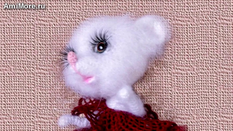 Амигуруми схема Мышка Фрося. Игрушки вязаные крючком - Free crochet patterns.