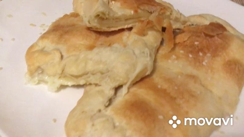 Хачапури с Сулугуни по домашнему Вкусный ужин Пошаговый рецепт с фото и видео