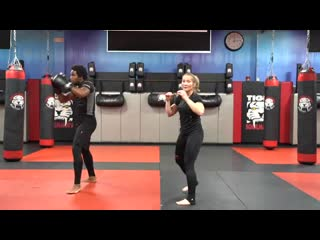 Kickboxing Classes for Adults - E5 - Intermediate - Sensei M. Holland _ Tiger Sc