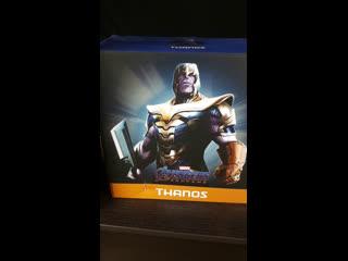 Стрим обзор Завоеватели вселенной Марвел - Таносы от Iron Studios