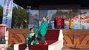 00015 МИСТИЧЕСКАЯ НЕБЕСНАЯ ЯРМАРКА-2019 В КУНГУРЕ СЕРЫЙ ПАНТУФЕЛЬ НА ФОНЕ СИНЕГО КВАДРАТА КРУГЛОГО МАГАЗИНА and The МИККИ