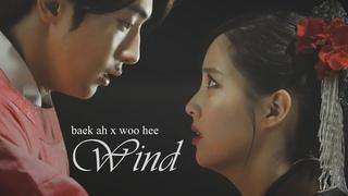 baek ah x woo hee - wind   scarlet heart