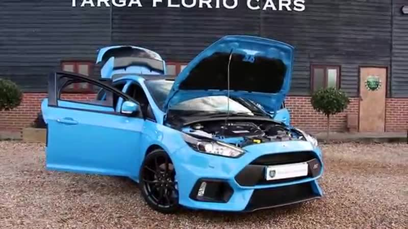 Ford Focus RS 2 3 EcoBoost 5dr Hatchback Manual in Nitrous Blue 2016
