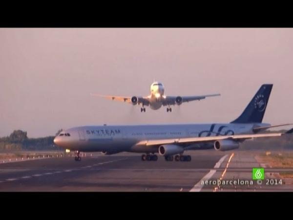 Un piloto evita la colisión entre dos aviones en el aeropuerto de El Prat
