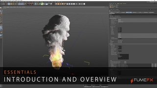 FumeFX for Cinema 4D Essentials - Introduction and Overview