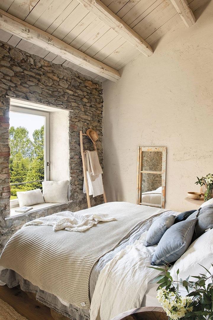 Прекрасное превращение старого амбара в уютный дом в Испании