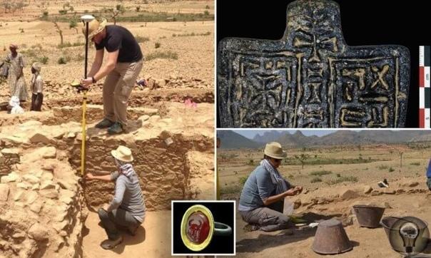 Археологи изучили руины загадочного африканского города  царства Аксум.