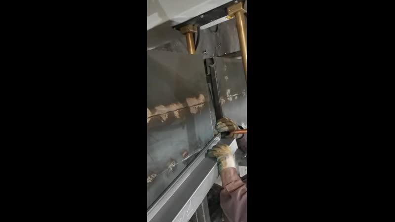 Видео работы станка TECNA 4645NE380