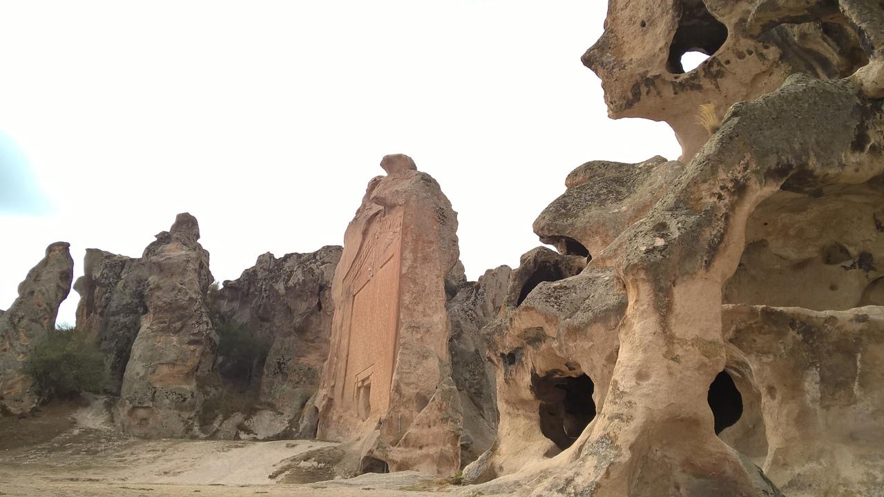 Мидас - самое известное фригийское рельефное изображение