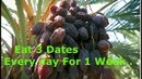 3 Dates Every day For 1 Week This Is What Happens To Your Body.(If you eat)