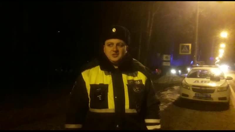 Hyundai сбил мальчика в Комарово на пересечении Зеленогорского шоссе с улицей Отдыха