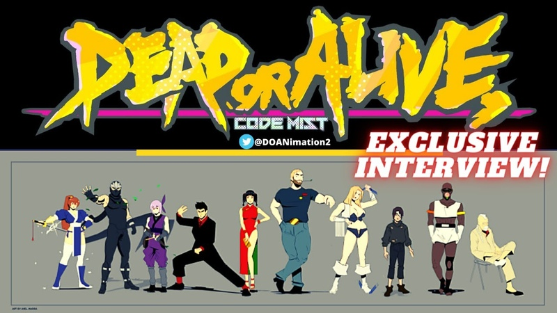Dead or Alive Code M I S T New Animation Series! (Interview wAxel Massa)