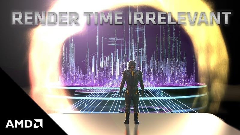 3rd Gen AMD Ryzen™ Threadripper™ Render Time Irrelevant