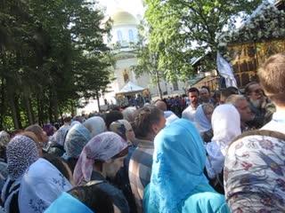 Проповедь митрополита Илариона Алфеева 28 августа 2019 г  в Псково Печерском  монастыре.
