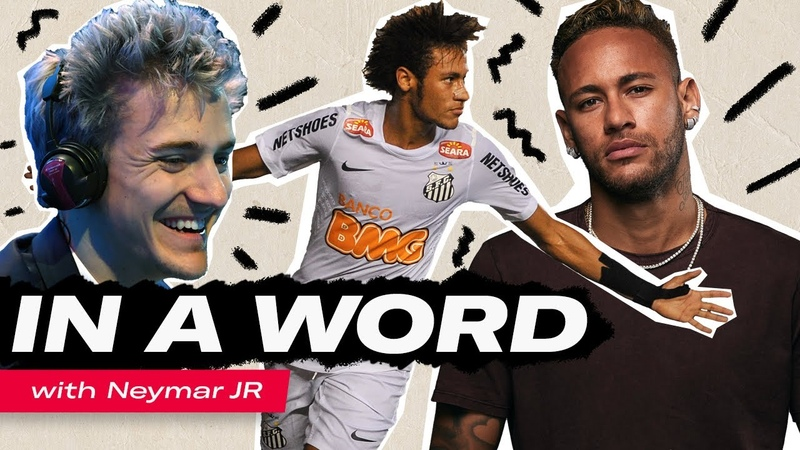 Neymar Jr on Ninja Lewis Hamilton the Copa Libertadores In a Word
