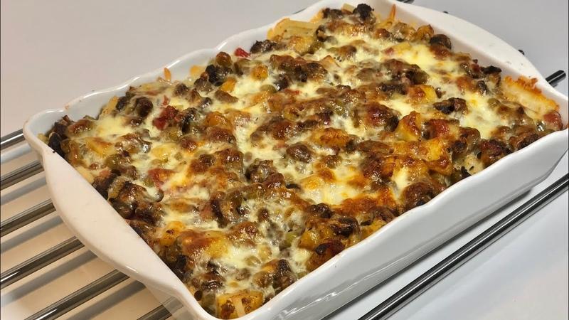 Ana Yemeği Ve Yan Yemeği Aynı Anda Pişirilen Pratik Yöresel Lezzet Yörük Kebabı Seval Mutfakta