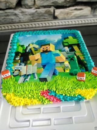 торт с фотопечатью на заказ хабаровск