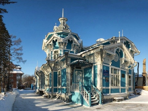 Дом купца Голованова в Томске возведён в 1904 году по проекту известного местного архитектора Хомича