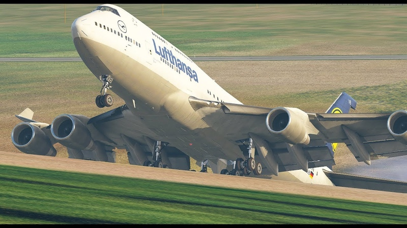 Landing the World's Heaviest Boeing 747 Xplane 11