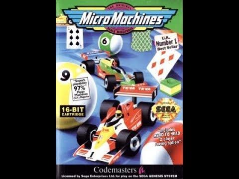 Micro Machines (Rus) (SEGA) Прохождение игры