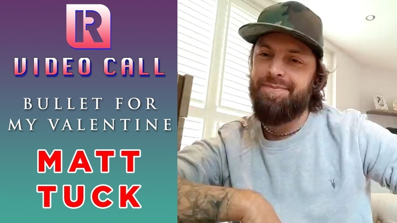 Bullet For My Valentine's Matt Tuck On 10 Years Of 'Fever' New Album Sessions Video Call