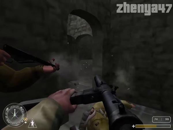 Прохождение Call of Duty: United Offensive Миссия 7: Сицилия 1