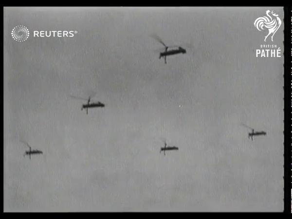 DEFENCE TRANSPORT RAF Flying boat trials Gyroplane trials in US (1938)