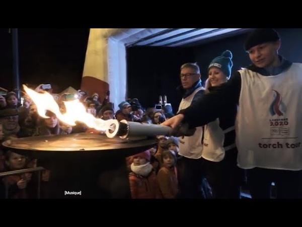 Lausanne 2020 Torch Tour - Villars