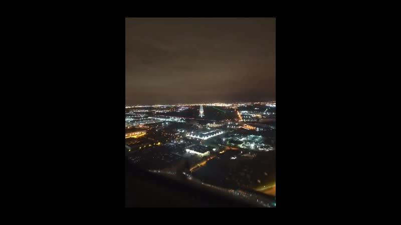 Ночная посадка в аэропорту Орли (ORY)Boeing 777-200ER ак Air France 🇫🇷
