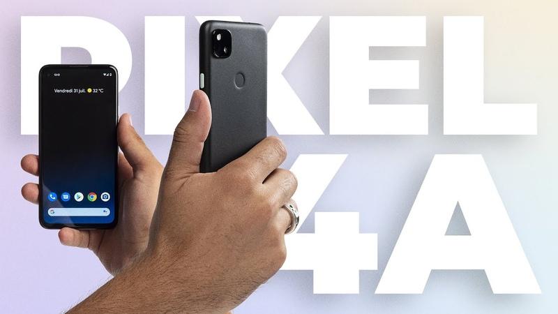 Google Pixel 4A notre PRISE EN MAIN du meilleur photophone à 349 euros