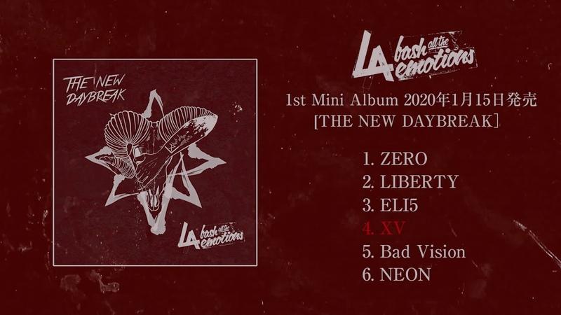L A bate 1st MINI ALBUM THE NEW DAYBREAK]2020年1月15日発売