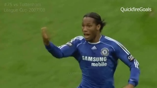 Didier Drogba's 164 goals for Chelsea - YouTube