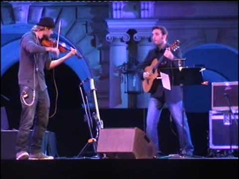 David Garrett and Giorgio Serci at the Schlossfestspiele Regensburg 2009 Duelling Strings