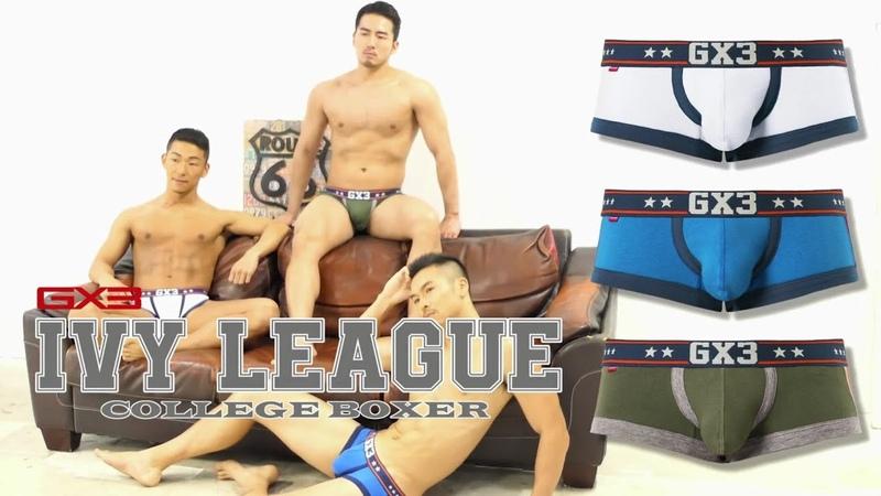 【大好評発売中】GX3最新コレクションIVY LEAGUE カレッジボクサー