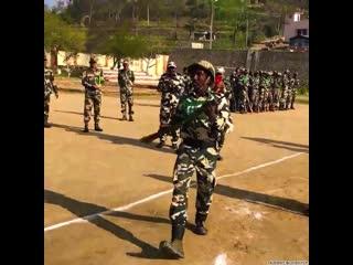 Лютая подготовка солдат в Индии